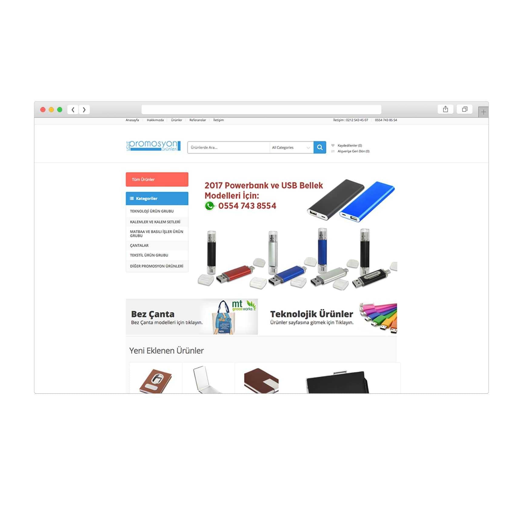 E-Ticaret Sitesi Ucuzpromosyonurunleri.net
