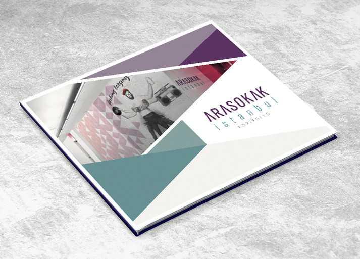 Arasokak İstanbul Katalog Tasarım Örneği