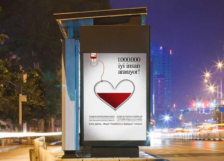 Kan Bağışı, Outdoor Tasarım Örneği