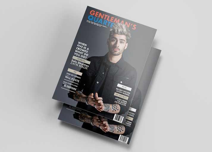 Magazin Dergi Tasarım Örneği