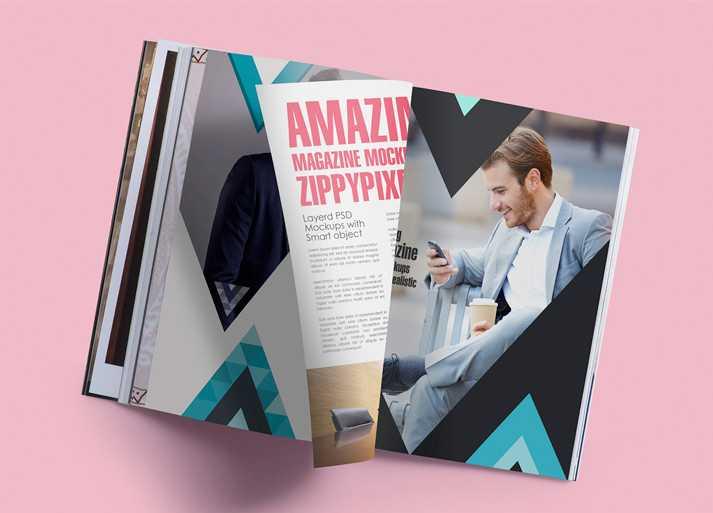 Moda Dergi Tasarım Örneği