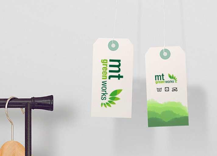 MT Greenworks Etiket Tasarımı