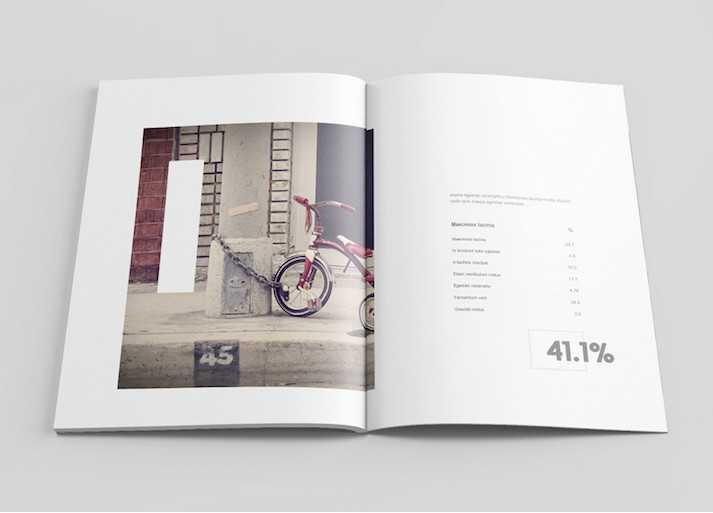 İçindekiler, Dergi Tasarım Örneği