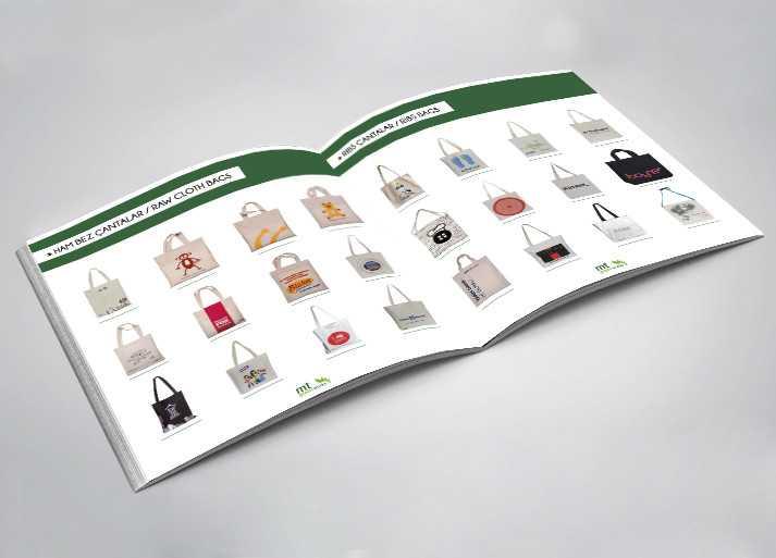 MT Greenworks Katalog İç Tasarım Örneği