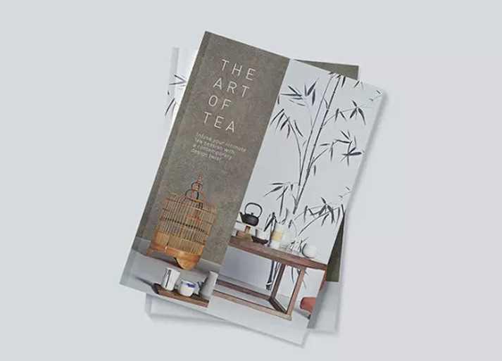The Art of Tea Dergi Tasarım Örneği