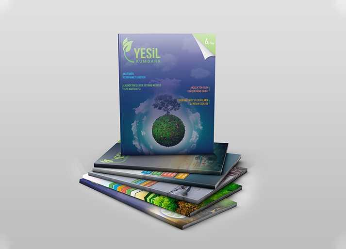 Yesil Kumbara 6. Sayı Dergi Tasarımı
